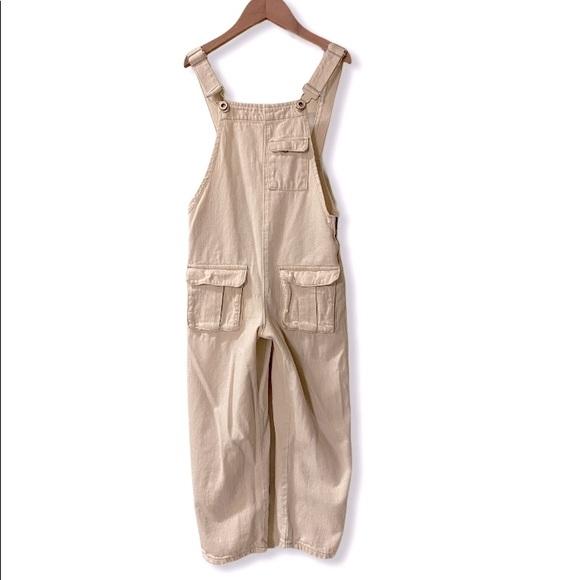 Zara Kids Denim Overalls size 7